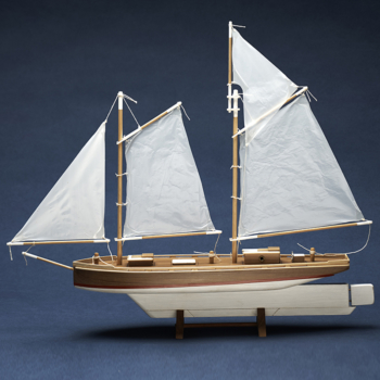 COASTER 16″ Two-Masted Schooner