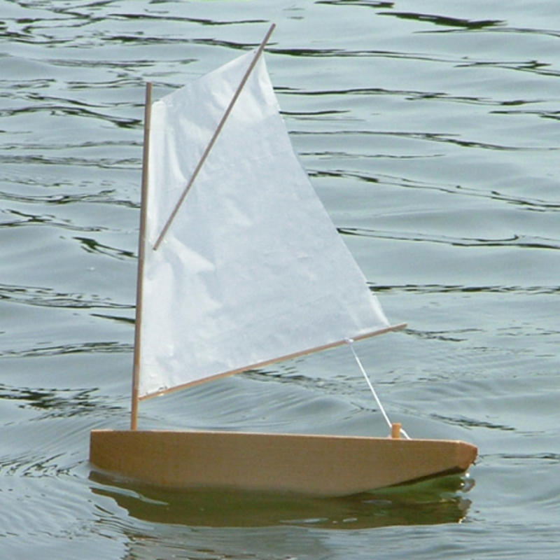 SPRIT SAIL 8″ Sailboat