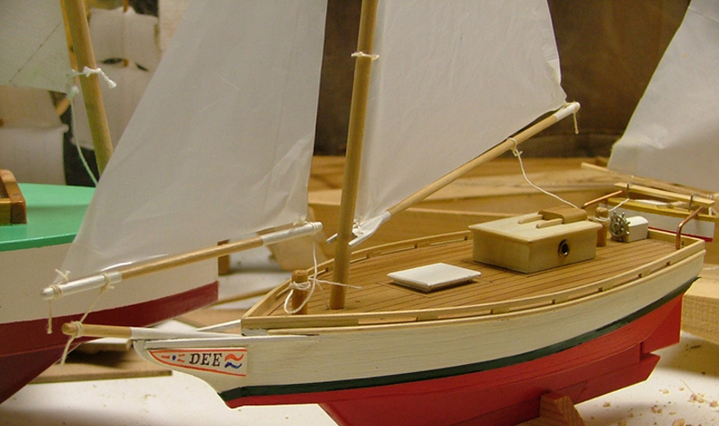 Skipjack Semi-Scale Model