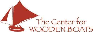 logo the center for wooden boats
