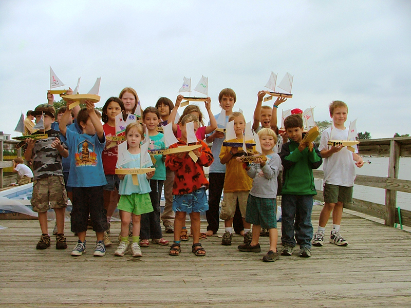 Kids at Pine Wood Sailer Regatta