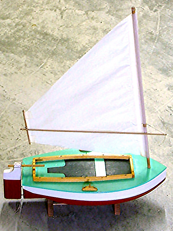 POLLIWOG Model Boat Plans