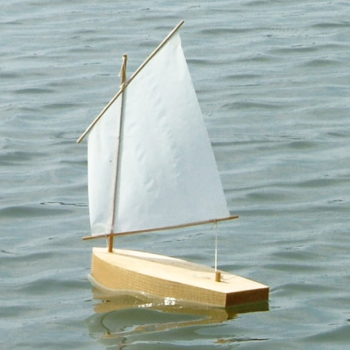 LUGGER 8″ Sailboat