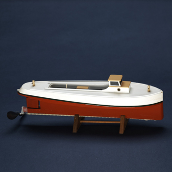 DRAKETAIL 12″ Rubber Powered Workboat